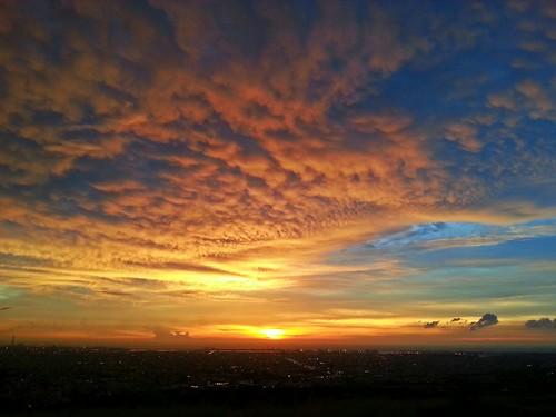 sunset dusk 日落 黃昏