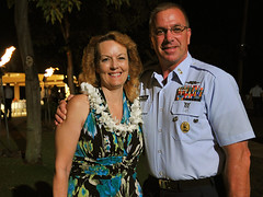 MCPOCG Leavitt attends D14 Coast Guard Foundation Dinner - 3