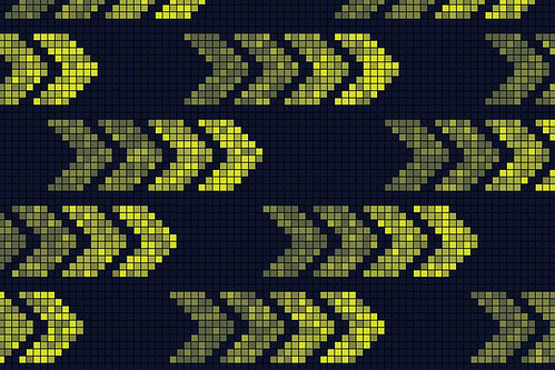 Pixel Arrows - Pattern Design