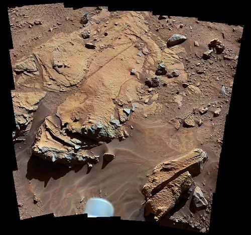 Curiosity sol 609 MastCam right Windjana
