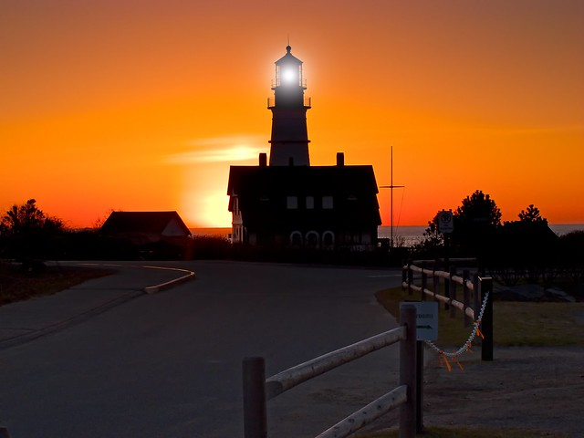 Sunrise @ Portland Head Light