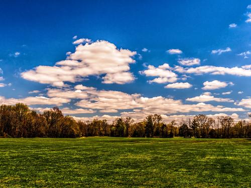 clouds landscape newjersey spring unitedstates sunny marlton eveshamtownship