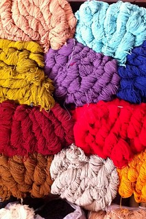wool in the souk