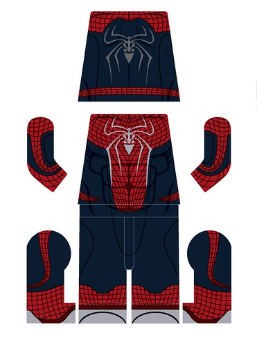 Lego amazing spiderman decals - Lego the amazing spider man 3 ...