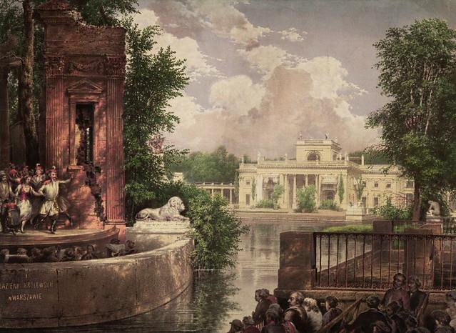 > Représentation à l'Amphithéâtre sur l'Ile des Lazienki.