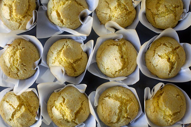 craggy perfect corn muffins