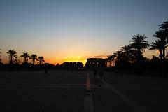 Sunrise at Karnak Temple