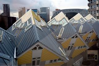 Kubuswoningen Rotterdam