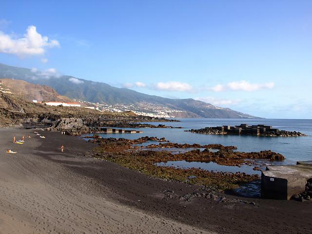 Black Sand Beach, La Palma