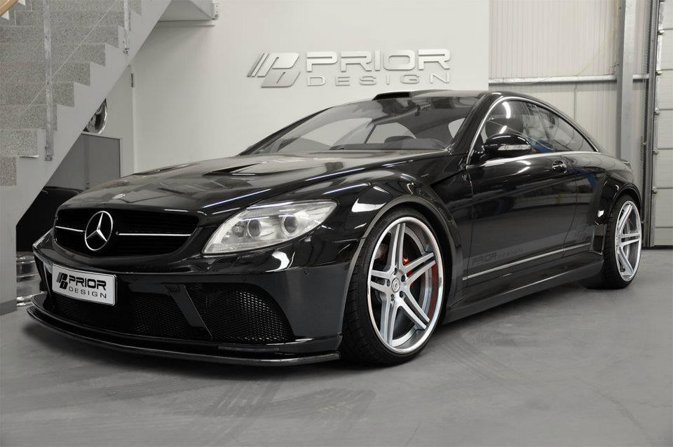 mercedes cl w216 full wide body kit cl63 cl550 cl600 cl65. Black Bedroom Furniture Sets. Home Design Ideas