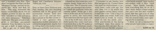 02/17/84 Minnesota Daily (Kiss 02/12/84 Show Review)