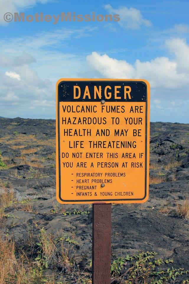 volcanic fumes