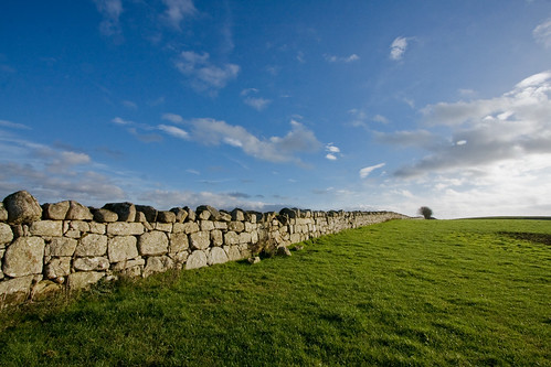 blue ireland sky green megalithic grass stone wall landscape tomb portal prehistoric megalith carlow portaltomb ballynoe backpackphotography