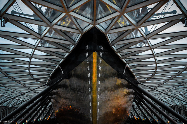 sara.wendelmelhuish - Tickling the belly of Cutty Sark (explore 03/02/2015)