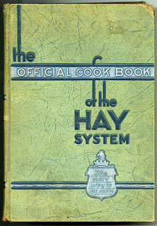 The Official Cook Book of the Hay System - cover