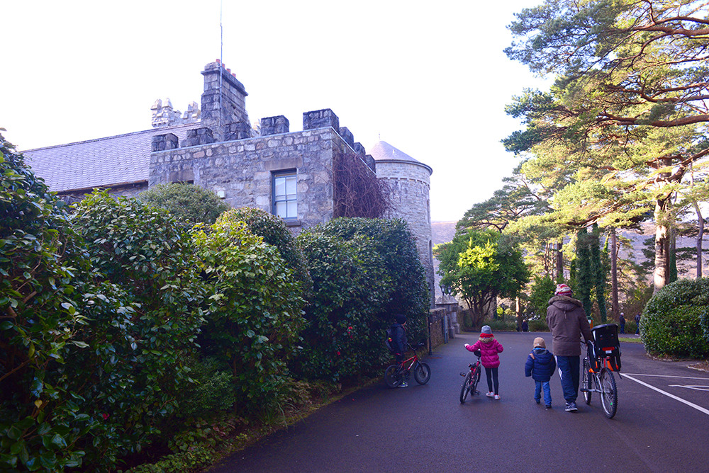 Family Cycling, Glenveagh Castle