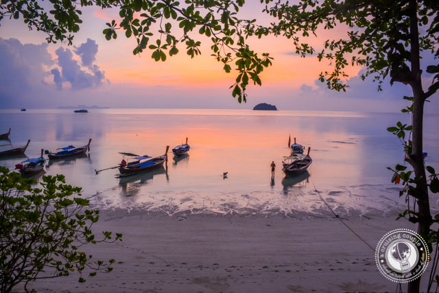 Sunrise on Sunrise Beach Koh Lipe Thailand