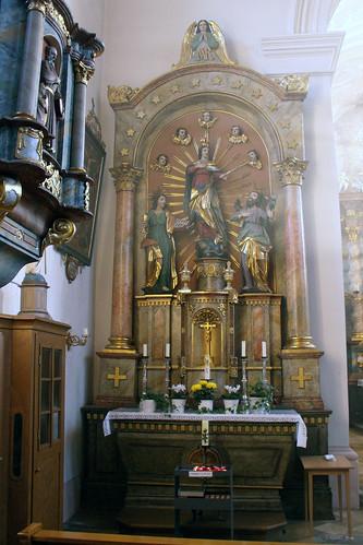 St. Laurentius, Bundorf, Marienaltar