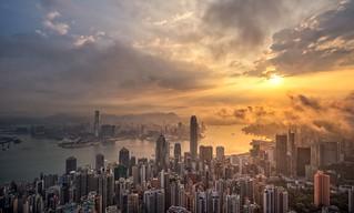 Sunrise, Hong Kong