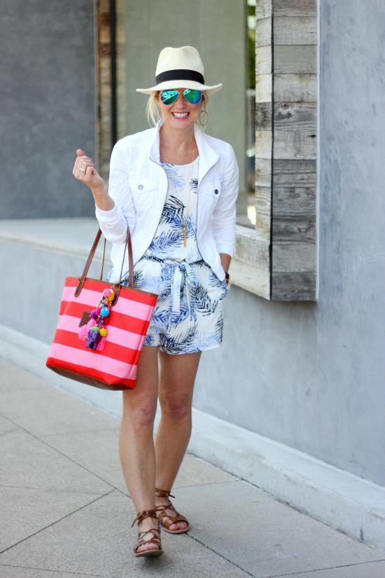 Hi Sugarplum   Five Ways to Wear a White Jacket