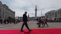 Georgia's President Arrives