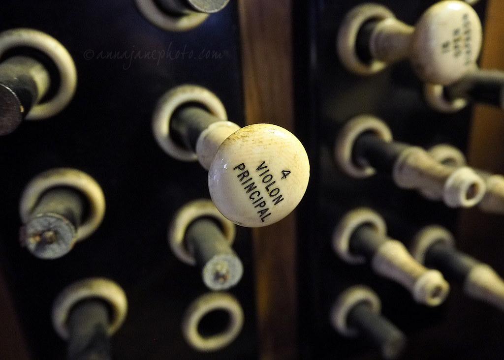 Methodist Central Hall Organ Stops