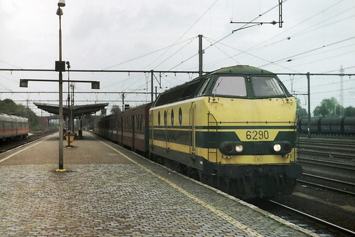 NMBS 6290 at Saint Ghislain