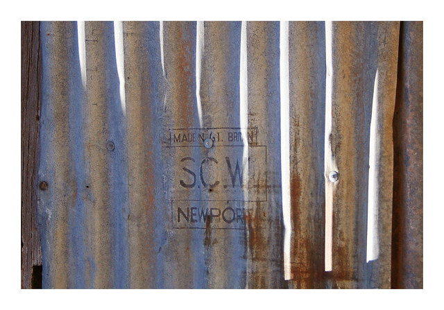 S.C.W. NEWPORT MADE IN GT. BRITAIN by Steel Company of Wales