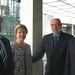 Achim Barchmann mit Pieter van Nuffel, dem EU-Beauftragten für Zypern