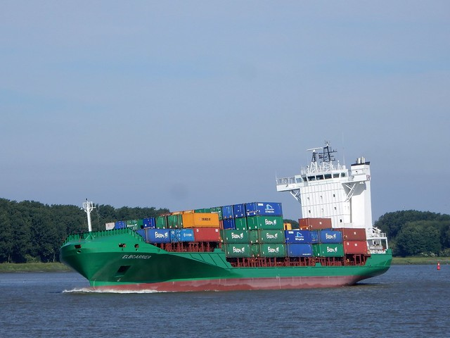 containervessel Elbcarrier Holland