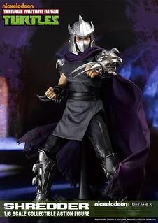 DreamEX 忍者龜系列【許瑞德】TMNT Shredder 1/6 比例人偶作品