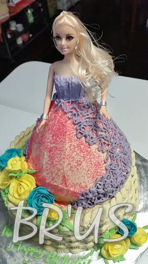 Doll Theme Cakes by Franc Linda of Br'US