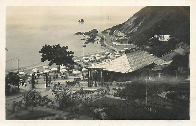 Doson ( Do Son ) golfe du Tonquin 1933 - Le Pagodon (l'entrée vue aérienne)