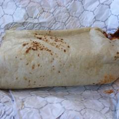 Carne Adovada Burrito @ Twister's