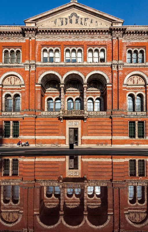 The V&A Museum courtyard