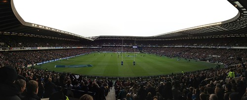 Murrayfield Rugby Stadium Panorama, Scotland