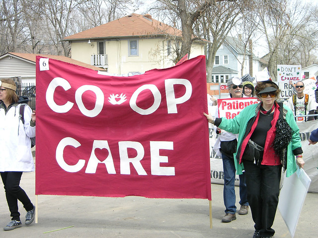 MayDay free speech co-op care a