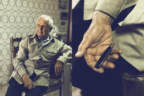Grandpa and his knife by Stefano Reves