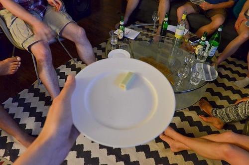 Japanese Kit Kat Taste Test - Wasabi, omnomnomnom
