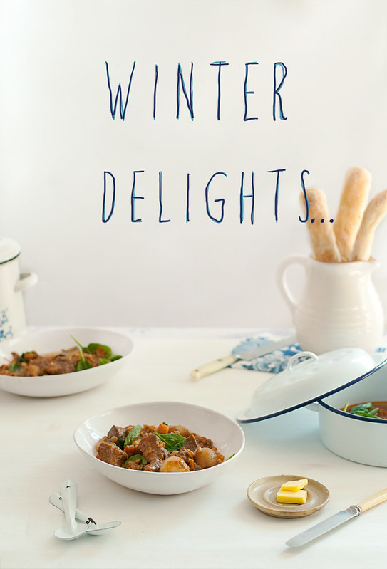 Winter Delights and a Touch of Blue
