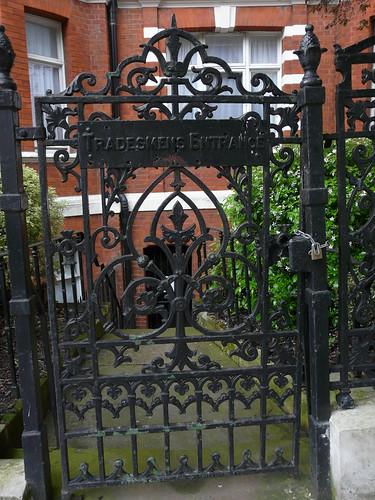 Tradesmans Entrance, Saint Mary's Terrace, Paddington