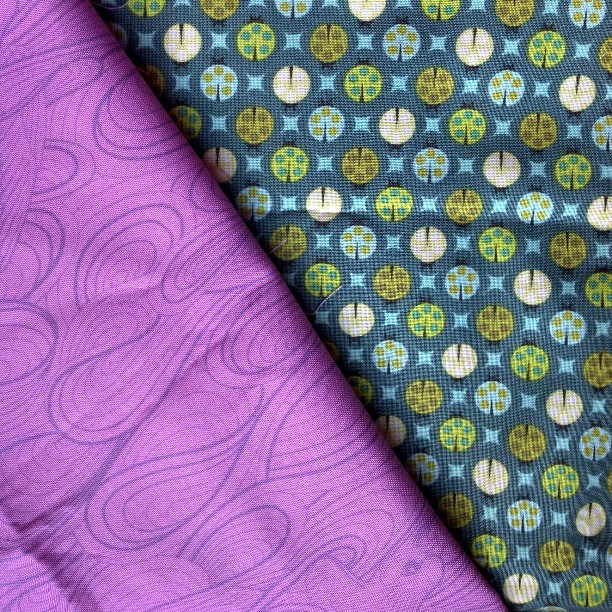 Tula Pink Charm Square Swap fabrics <3