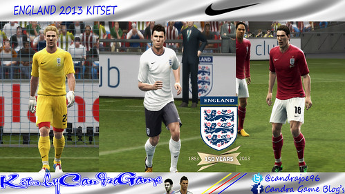 England 2013 Kitset by CandraGame