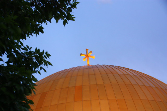 Dome of Greek Orthodox Church 2013