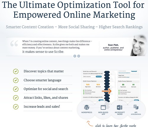 Scibe content is one of the best SEO tools available for copywriters