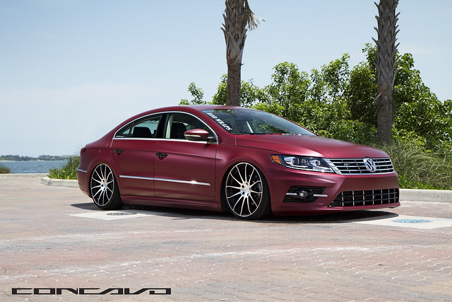 volkswagen cc wrapped bagged on cw 12 matte black. Black Bedroom Furniture Sets. Home Design Ideas