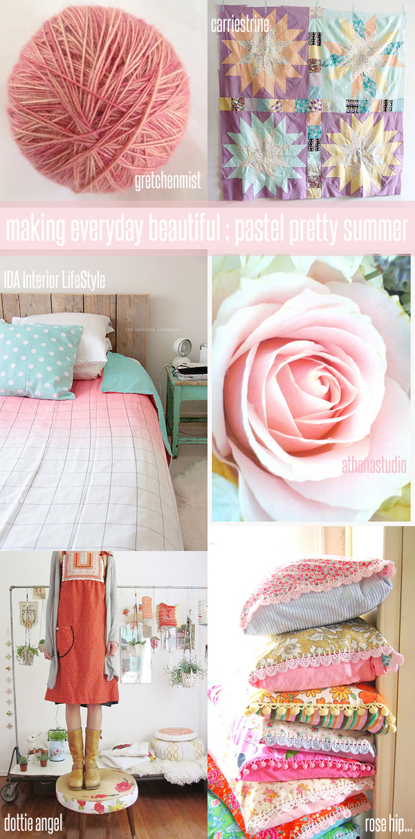 making everyday beautiful : pastel pretty summer | Emma Lamb