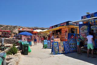 Zona de puestos y chiringuitos Blue Lagoon de Comino en Malta, paraíso Mediterráneo - 9173136039 b08ffdc1da n - Blue Lagoon de Comino en Malta, paraíso Mediterráneo