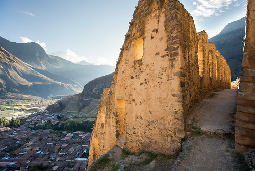 windows sunset urban favorite mountains peru inca architecture buildings evening ruins cusco cityscapes inka ollantaytambo andesmountains pinkuyllunamountaingranaries