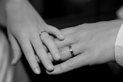 arm(0.0), hand(1.0), wedding ceremony supply(1.0), ring(1.0), finger(1.0), white(1.0), jewellery(1.0), monochrome photography(1.0), close-up(1.0), nail(1.0), monochrome(1.0), black-and-white(1.0), interaction(1.0), wedding ring(1.0),
